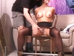 Messy Floozy Gets Her Ass Red From Hardcore Spanking Session