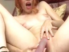 Amarna Miller Takes A Vibrator To Her Pussy