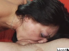 Salad Tossing Russian Milf Gets Fucked - Hot4MILF