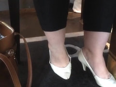 Shoe Fetish - BBW Fenja's Well-Worn Heels Longplay