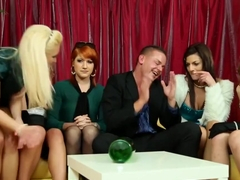 Piss Soaking Euro Dickriding In Group