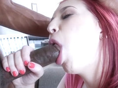 Amber Ivy in Big Black Company - TeensLoveBlackCocks