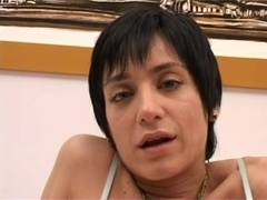 double penetration FOR SHORT HAIRED ANGELINA