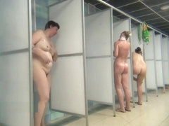 Hidden Camera Public Shower 08-14