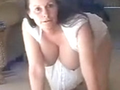 Rich Granny Fucked At Her Home By Gardener