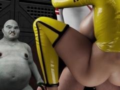Big sexy nude boobs pussy dildo