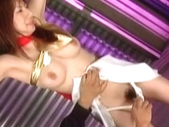 Horny Japanese whore Aki Yatou in Amazing BDSM JAV movie