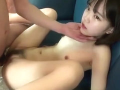jap lady gets creamed