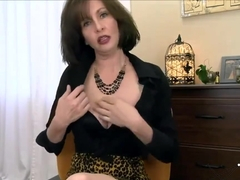 Cougar Mommy Wants Your Cum