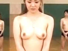 Beautiful Japanese Girl With Sexy Slim Legs Rides A Nerdy G