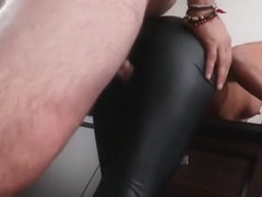 Amirah Adara high heel tease and leg job