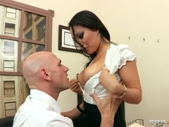 Big Tits at Work: Boning my Boss