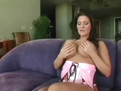 He pounds busty MILF Austin Kincaid's cunt and gives her a facial
