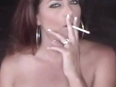 virtual smoking handjob