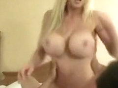 Fake Titty Cheating Housewife Fakes Facial Cumshot
