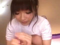 Fabulous Japanese whore Ami Morikawa in Best Handjobs, Facial JAV scene