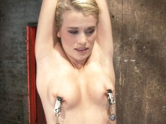 Southern Belle In Her First Hardcore Bondage Experienceabused, Made To Cum, And Wrist Suspended. -.
