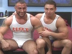 Schwule Muskel-Sex-Pornos