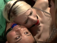 Exotic fetish xxx clip with best pornstars Ashley Jane and Sasha Yung from Whippedass