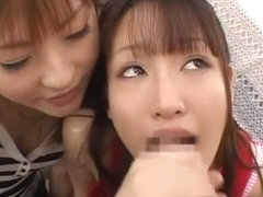 Best Japanese model Rika Sonohara, Anna Kanzaki in Amazing Blowjob/Fera, Threesomes JAV scene