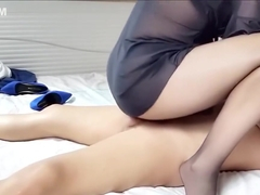 Chinese Outcall Hooker - Blue Heels