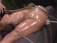 More Sex Slave Training for Valentina with Rope Bondage & Deep Penetration