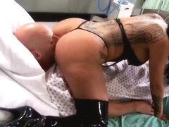 zwarte Tgirl pussy
