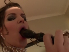 Fabulous pornstar Bobbi Starr in exotic cunnilingus, squirting porn video