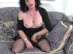Celine: Proper T-Milf  - UK-TGirls