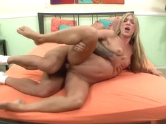 Amy Brooke gets nailed with a hot stud's colossal jackhammer