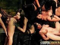 Obedient Sex Slave Alexa Pierce Worships Mistress Esmi Lee - StrapOnSquad