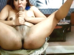 Tranny Self Suck Her Huge Dick