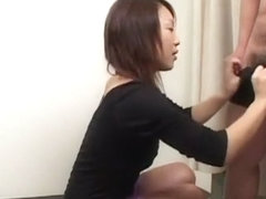 Hottest Japanese model Moe Oishi, Noa, Arisa Kanno in Incredible Blowjob, POV JAV scene