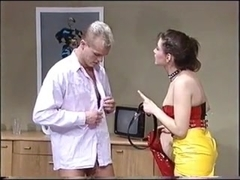 Latex German Mistress - Jerk Off Encouragement - JOE