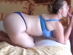 Amazing homemade riding, blowjob, cowgirl sex movie