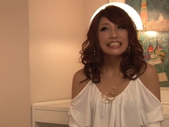 Fabulous Japanese chick Aya Sakuraba in Incredible JAV uncensored Threesomes video