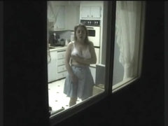 Cleared Naked window flashing wives