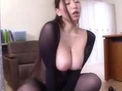 Sayuki Kanno is a hot Asian milf enjoying a hot position 69