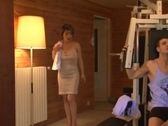 French mother i'd like to fuck screwed in sauna