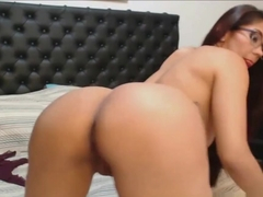 Latina With Glasses Big Booty Live Sex And Blowjob