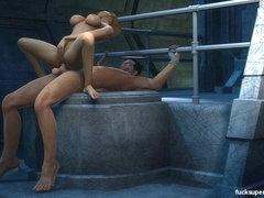Trevor jeht schwulen Pornos