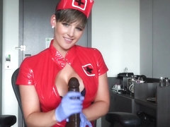 HannahBrooks Nurse Brooks Is Ready For Your Sample in private premium video
