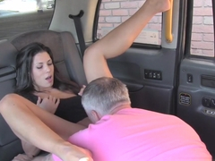 Fake Taxi John Makes Guys Gf Squirt And Cums