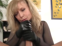 and handjob with satin gloves authoritative answer