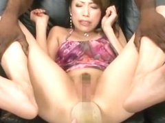 Crazy Japanese whore Aya Sakuraba in Best Interracial, Fetish JAV scene