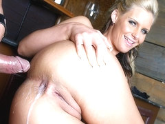 Blonde Phoenix Marie Gets Cum In The Asshole - Upox