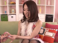 Exotic Japanese chick An Yabuki in Horny JAV uncensored Amateur clip