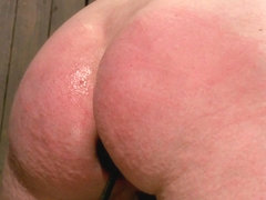 Cherry Torn James Deen in Cherry Torn gets all tore up as she gets her ass whipped all to hell! - .