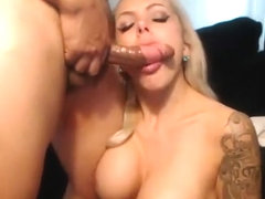 Ashley Winters gives great blowjob before doggystyle fuck