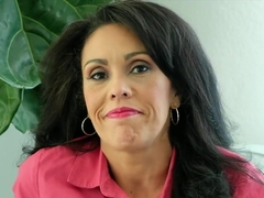 latin cougar loves to fuck her 23 year old lad